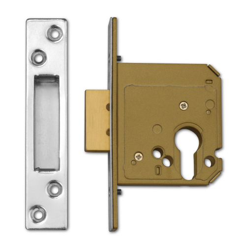 Asec AS11326 Euro Cylinder Mortice Deadlock Case